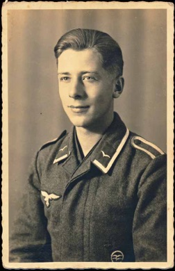 Original WW2 German Photo Luftwaffe DLV Glider Pilot Proficiency Badge