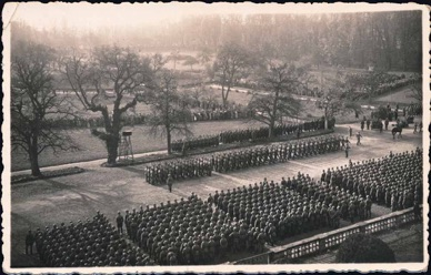Original WW2 German military parade photo
