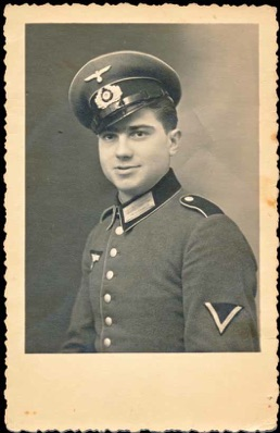 Original WW2 German Parade Uniform Infantry Gefreiter Photo
